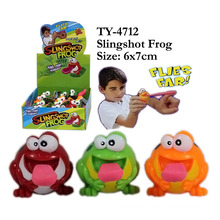 Flashing Fly Frog Toy